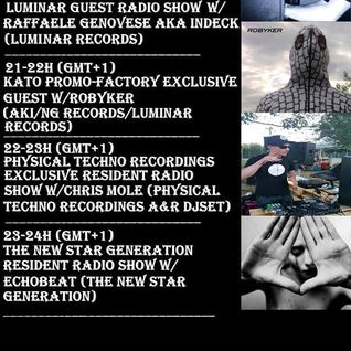 Physical Techno Recordings Exclusive Resident Radio Show w/Chris Mole (A&R) Kato Promo Factory