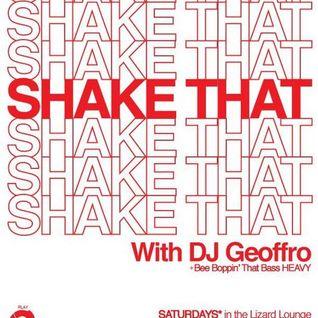"DJ GEOFFRO - ""SHAKE THAT!"" _ promo mix"