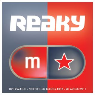 Reaky - Live @ Magic, Buenos Aires - 20.08.2011 - Part 1