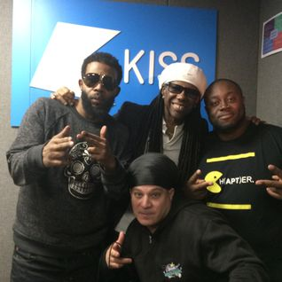 Blitz & Pharoahe Monch on Kiss FM UK Aug 2014