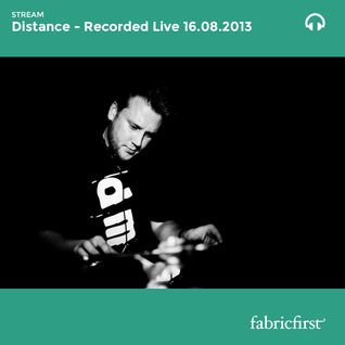 Distance - Recorded Live on 16/08/2013