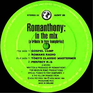 tORu S. classic HOUSE set Aug.2 1994 ft.Romanthony, Masters At Work & Marshall Jefferson