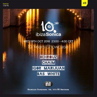 BASS WHITE - SONICA SHOWCASE CLUB NL - ADE 2016