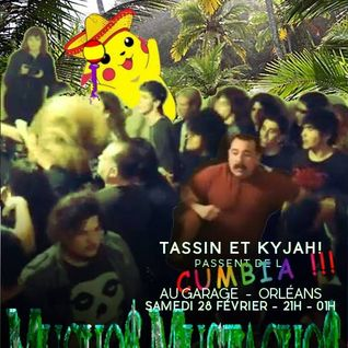 Tassin & Kyjah! : Muchos Mustachos! 3 hours and a half of Cumbia music @ Le Garage, Feb 28th 2015