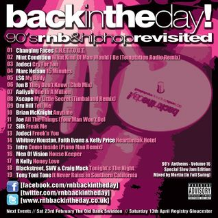 BackInTheDay! 90's Anthems Volume 16 - The Slow Jam Edition