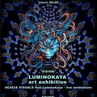 AstroPilot + Manifestor - Live at Luminokaya Art Exhibition (Shanti club, Moscow)