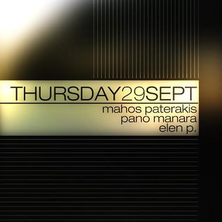 Live at Drazel@Pano Manara 29 Sept. 2011