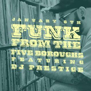 DJ Prestige @ Donna - Dust & Grooves Residency 01.08.2015