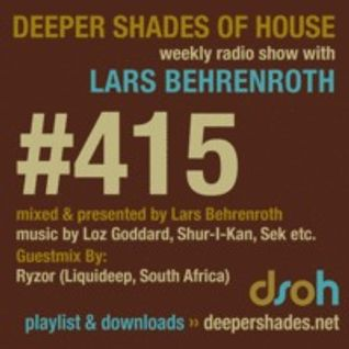 RYZOR (Liquideep, South Africa) - Exclusive guest mix for Deeper Shades of House