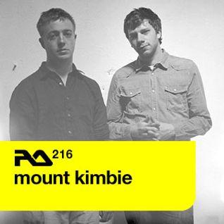 Mount Kimbie - RA. 216 Mix