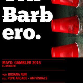 Pepe Arcade at El Barbero 21.05.16