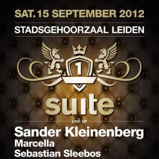 Sander Kleinenberg - Live at Suite, Leiden (15-09-2012)