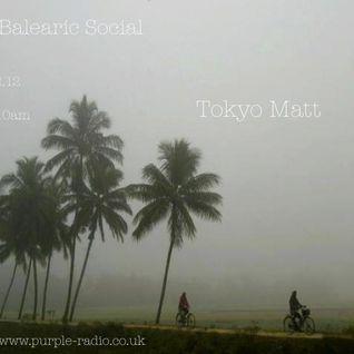 Tokyo Matt - Balearic Social Radio 16th December