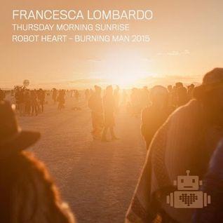 Francesca Lombardo - Robot Heart - Burning Man 2015