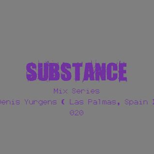 Substance·20 Podcast May 2014 - DENIS YURGENS
