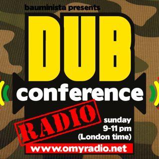 Dub Conference - Radio #95 (2016/08/21) with Jahsten Glue (Irieland) & BenJammin (PeaceTimeSound)