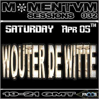 Momentvm Sessions 032 - Wouter de Witte - 2014-04-05