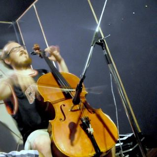 Jacob Cohen playing his Cello at Radio79 HQ!