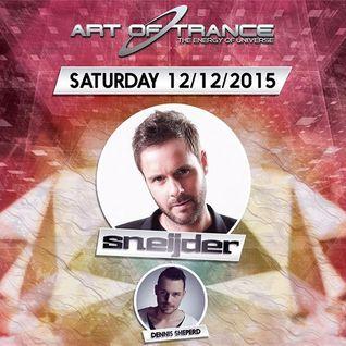 Dennis Sheperd - Live @ Matis Club, ART OF TRANCE (Bologna, Italy) - 12.12.2015