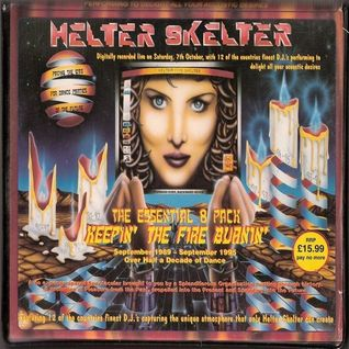 Colin Faver - Helter Skelter, Keepin The Fire Burning, Technodrome, 7th October 1995