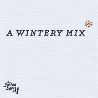 a wintery mix