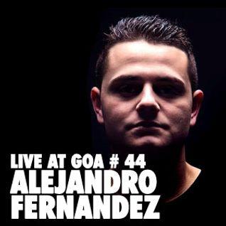 Alejandro Fernández | Goa Año Nuevo | Nefertiti | 01 Enero 2014