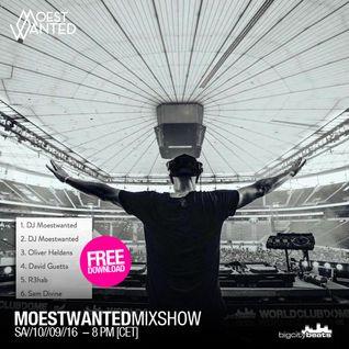 Moestwanted Mixshow on BigCityBeats Radio – September 2016