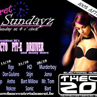 Jona @ Secret Sundayz at The Zoo 21-10-12