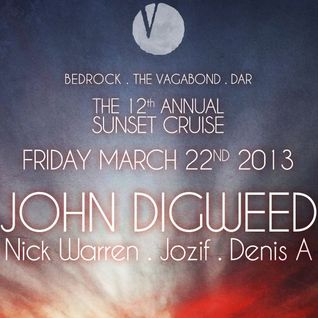 John Digweed, Nick Warren, Jozif, Denis A - Live at The 12th Annual Sunset Cruise (22-03-2013)