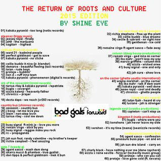 the return of roots and culture - 2015 edition
