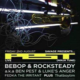 Bebop & Rocksteady aka Ben Pest & Luke's Anger @ Savage Dublin - 02.08.2013