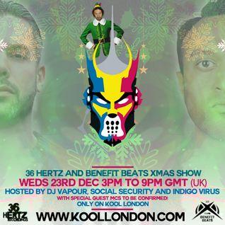 36 Hertz & Benefit beats 6 Hour Xmas Kool London Show - www.koollondon.com - 23-12-15