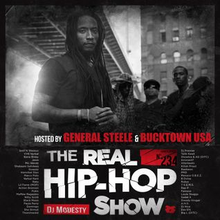 DJ MODESTY - THE REAL HIP HOP SHOW N°234 (Hosted by GENERAL STEELE & BUCKTOWN USA)