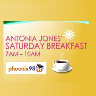 Antonia Jones' Saturday Breakfast Show - Yinka Williams interview (Phoenix FM) 28 May 2016