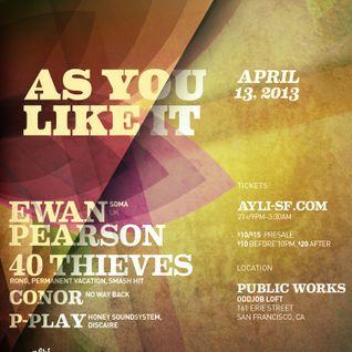 Ewan Pearson - Live @ Public Works, San Francisco (13-04-2013)