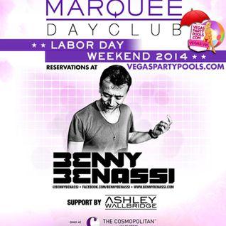 Benny Benassi - Live @ Marquee Dayclub (Las Vegas) - 31.08.2014