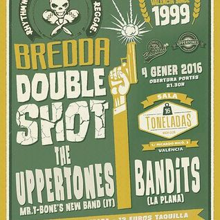 Bredda Double Shot Vol. 2 (The Uppertones + Bandits). Allnighter dj set.