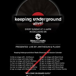 Mirco Violi @ Keeping Underground Alive! on Ibiza Global Radio, 15.4.2012