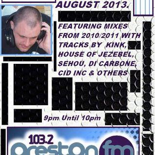 Energised With DJ Tim - 24/8/13/ - 103.2 Preston fm.