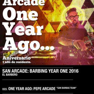 Pepe Arcade at El Barbero 25.06.16