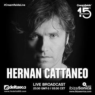 HERNAN CATTANEO @ CREAM ARENA  - CREAMFIELDS BUENOS AIRES - NOV 2015