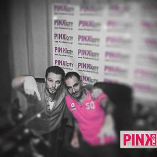 Zac F @ Pink Radio City with Petros Fragoulis 18/9/2012