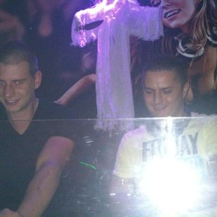 newc b2b bari @ nudisco horror story, Central Club, Miskolc 2013-11-02