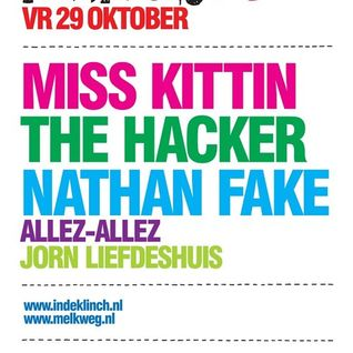 The Hacker @ Klinch Melkweg (2010.10.29 - Amsterdam, Netherlands)