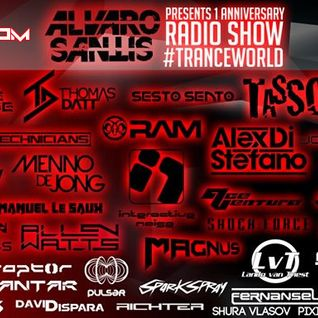Antar Guest Mix - Alvaro Santis Trance World