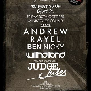 Judge Jules - Live @ Ministry of Sound (London) - 30.10.2015