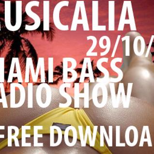 Musicalia Radio Show (Miami Bass Special) 29.10.08