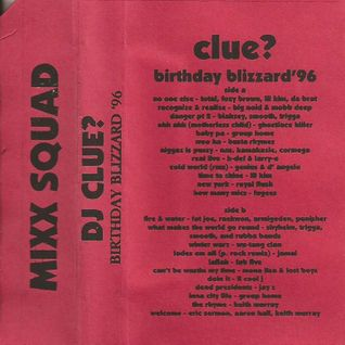DJ Clue - Birthday Blizzard '96