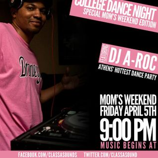 DJ A-roc Ohio University Mom's Weekend Mixtape pt1
