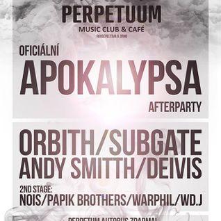 WarPhil - After Party Apokalypsa @ Perpetuum Club 01.03.2014